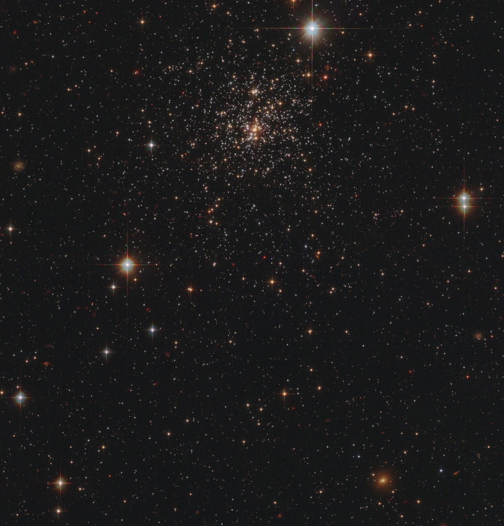 A Cathedral Of Almost Astronomyblog A Star Cluster Glowing Softly Star Cluster Andromeda Galaxy Cluster