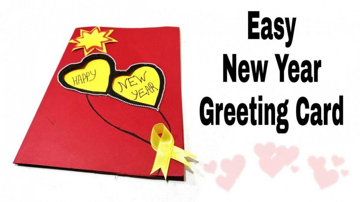 9 Best Greeting Card Banane Ka Tarika New Year Card Making New Year Greeting Cards How To Make Greetings