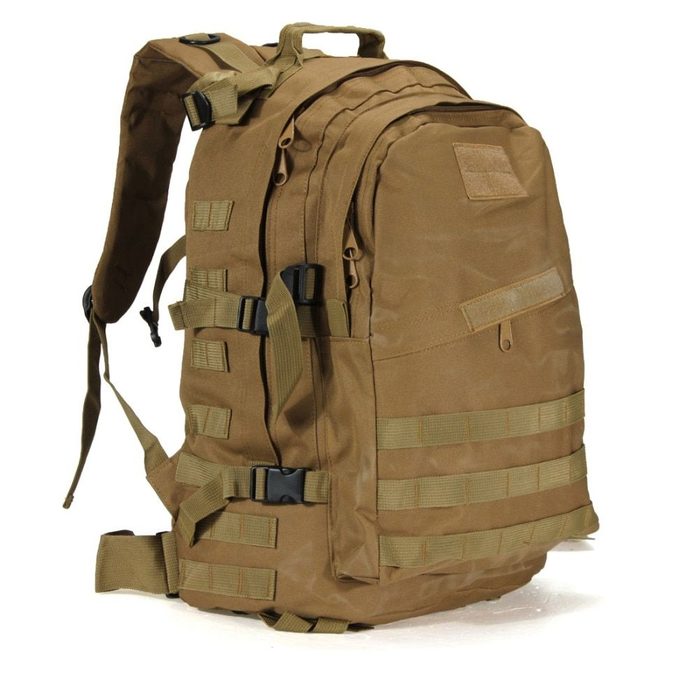 55L Military Tactical Backpack Rucksack Bag Camping Outdoor Sports Hiking  US