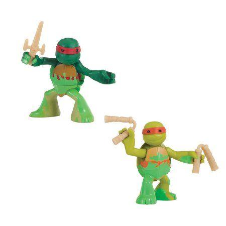 TMNT Teenage Mutant Ninja Turtles Metal Mutants Turtles Fugitoid 5 Pack