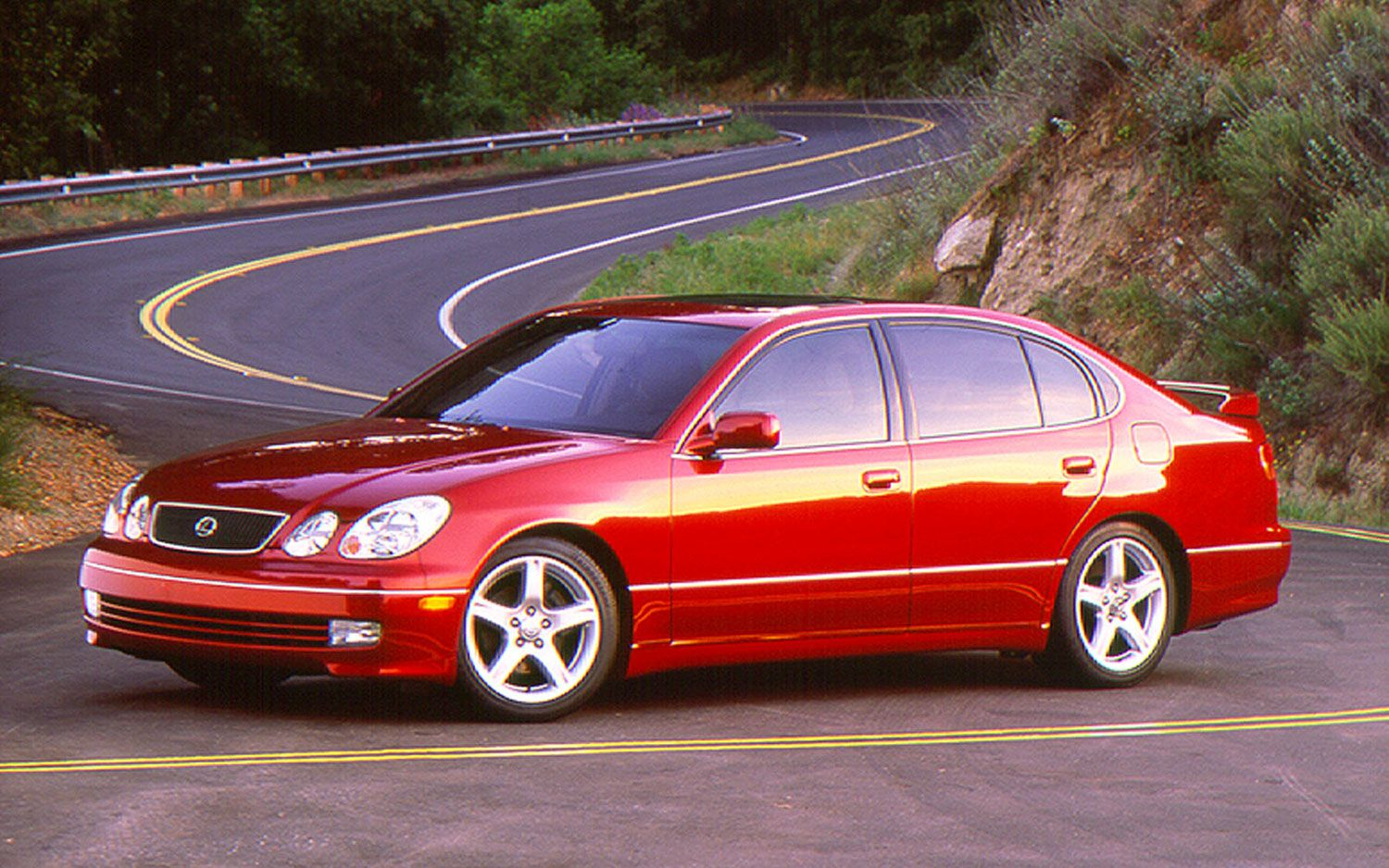 1998 Import Car of the Year as per Motor Trend, Lexus GS