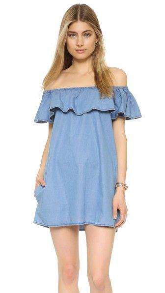 89b25e6ca05 Sincerely Jules Fiona Bardot Dress on ShopStyle