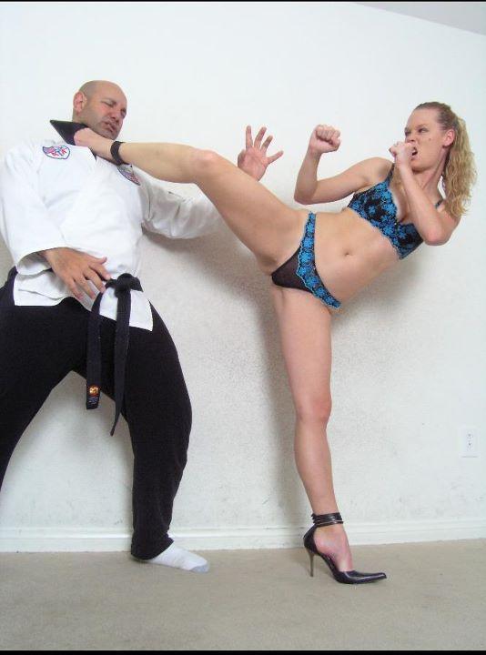sexy cam girl karate