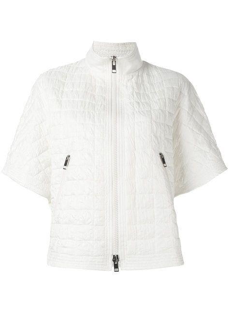 manga de acolchada chaqueta Scervino Ermanno corta 7qfCB6 fd8566b6382