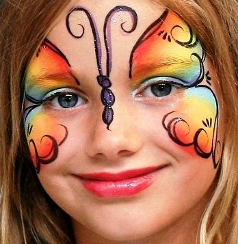 Butterfly Face Paint A Repin 4u from http://Splashtablet.com The suction-mount, waterproof iPad case. $39, ships free.