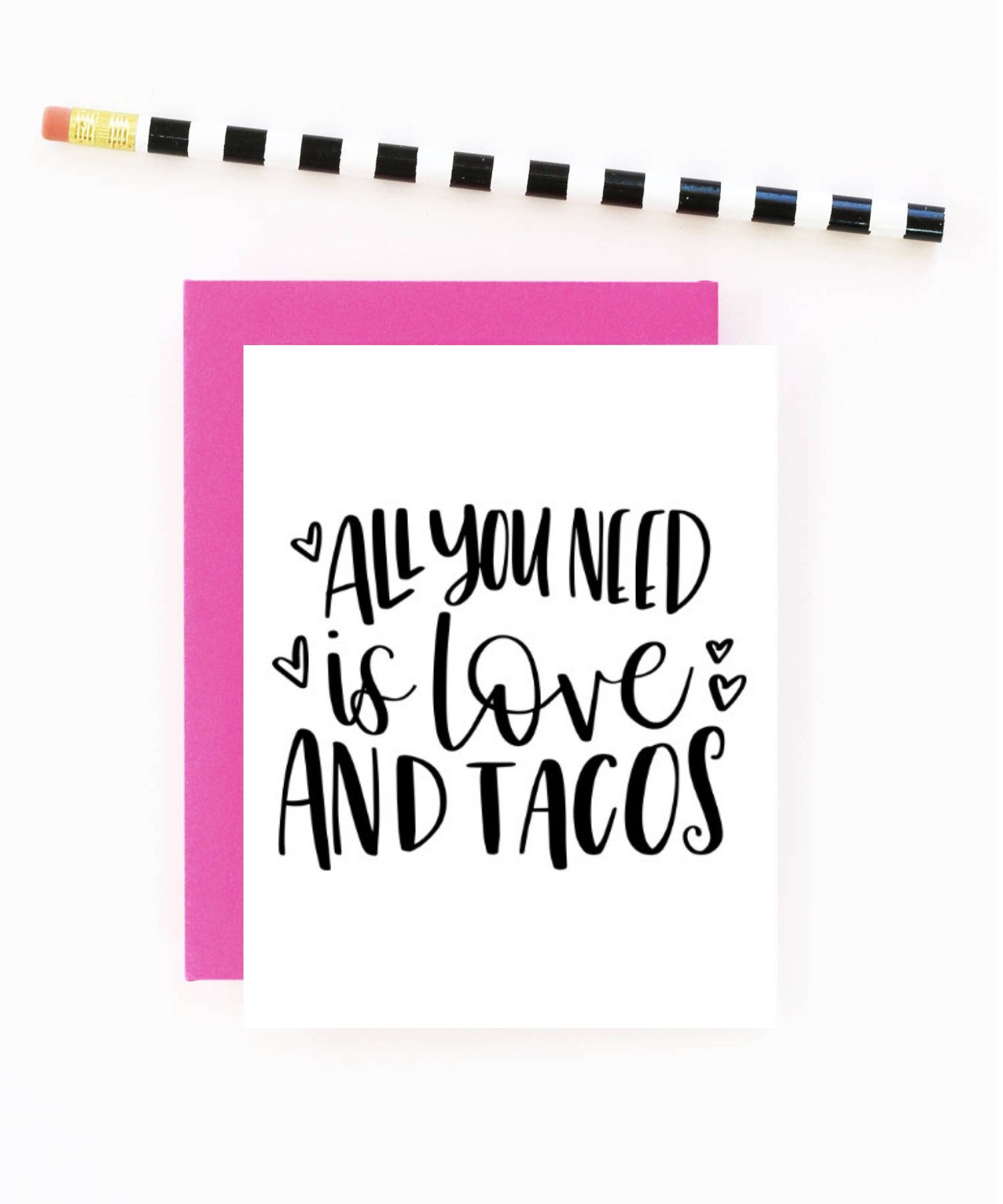 All You Need Is Love And Tacos Valentine Card Galentine Card Funny Valentine Card Taco Lovers Funniest Valentines Cards Funny Cards Christmas Cards To Make
