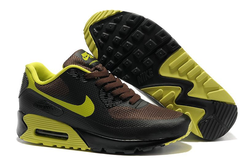 nike air max 90 hyperfuse all black