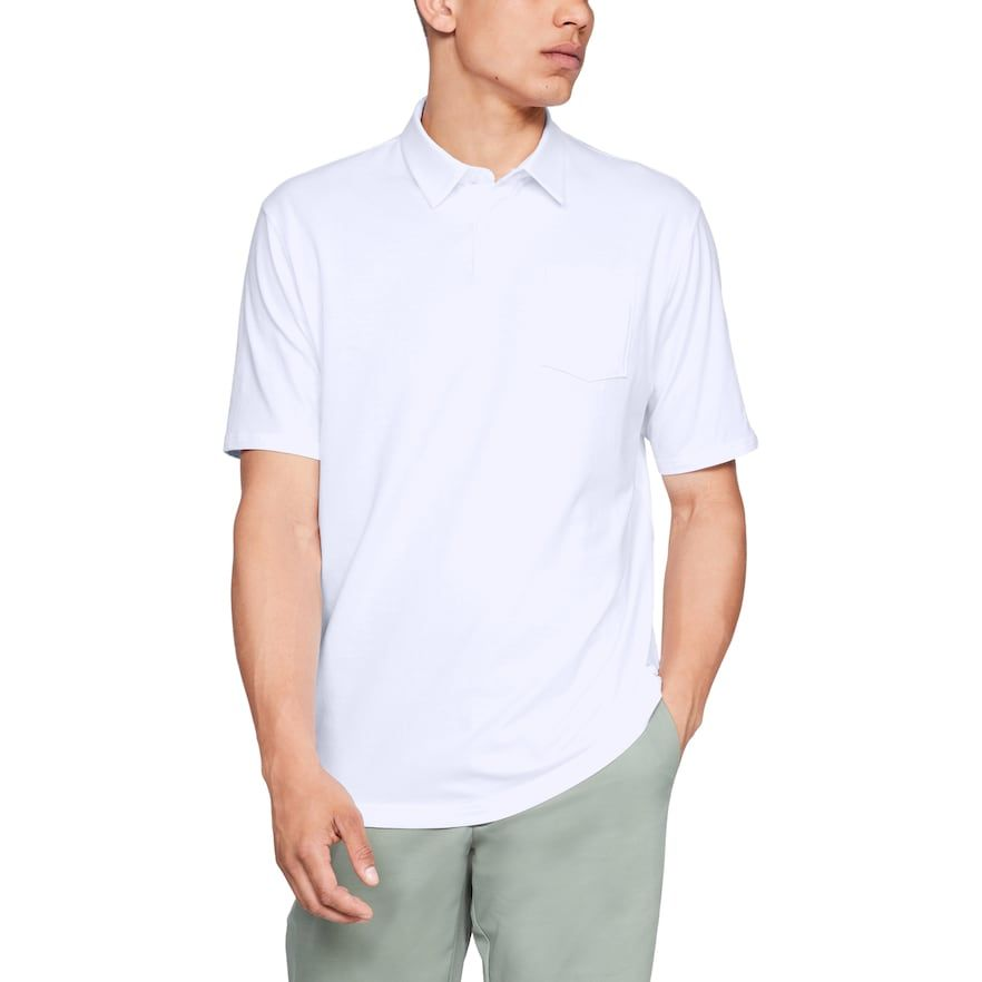 Photo of Herren Under Armour Charged Cotton Scramble Performance Golf Polo