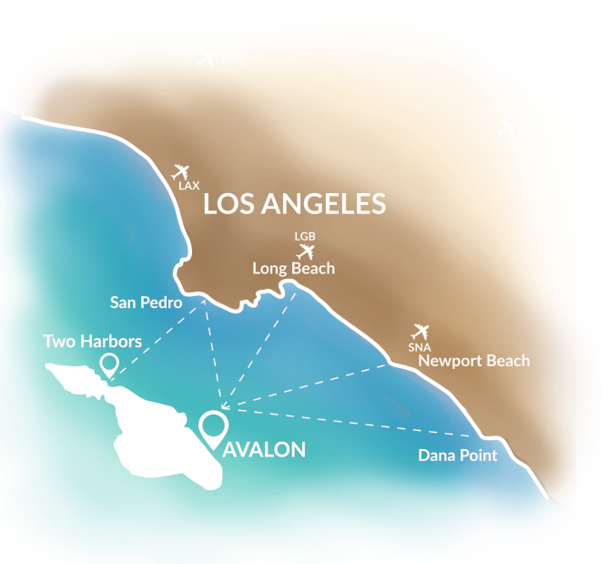 Get to Catalina Island | Travel & things to do ;) | Catalina island Catalina Island Hotels Map on