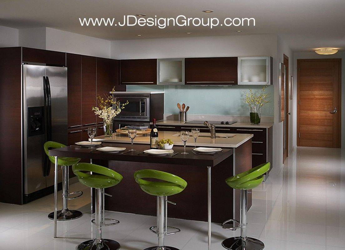 Contemporary Kitchen Design For Small Spaces Custom Green Apple And Wood Kitchen  Kitchen  Pinterest  Kitchens Decorating Inspiration