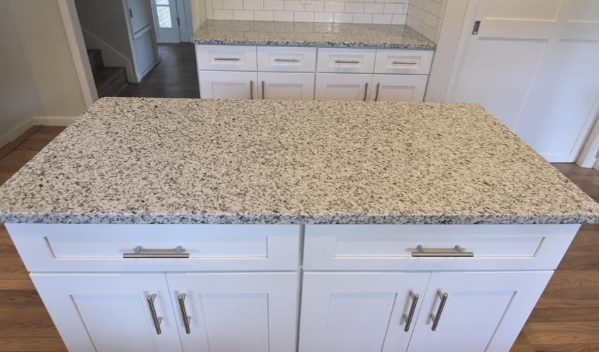 Luna Pearl Granite · CountertopGranite