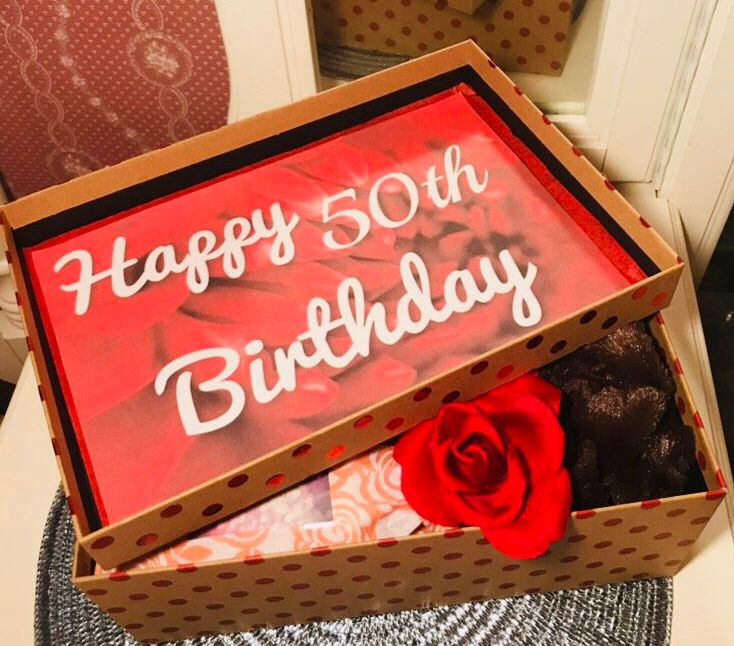 Is She Turning 50 Send Her A 50thbirthday Youarebeautifulbox Order Now