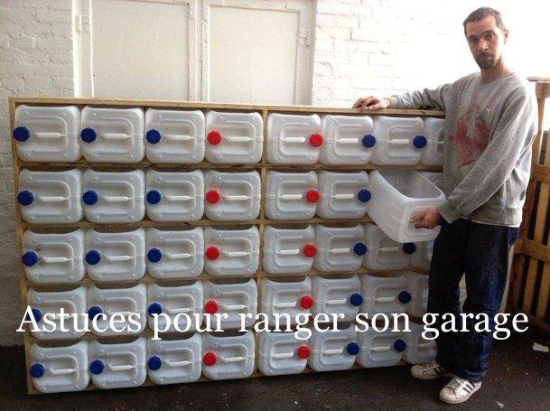Astuces Pour Ranger Son Garage Astuces Pour Tout Ranger Pinterest