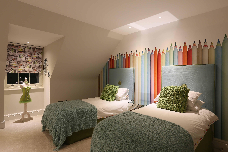 Fun Children\'s bedroom with lighting by John Cullen ...
