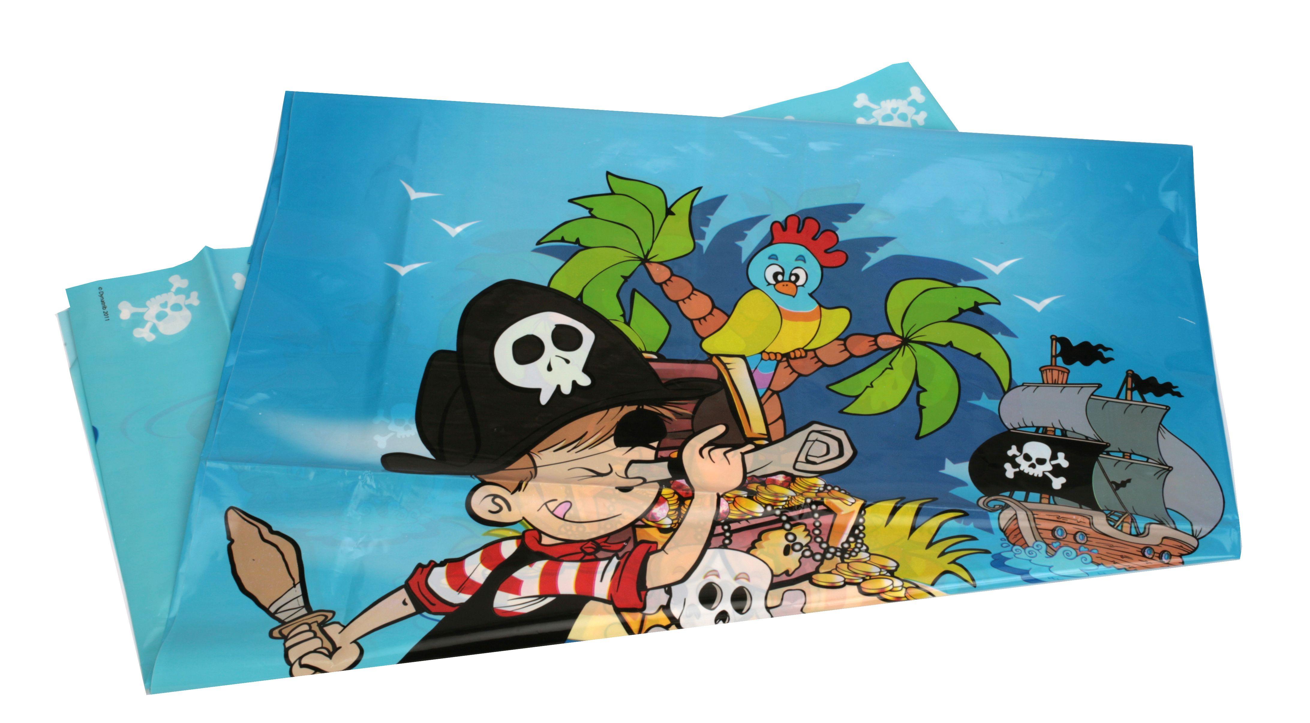 Nappe plastique 130x180cm Pirate DYNASTRIB