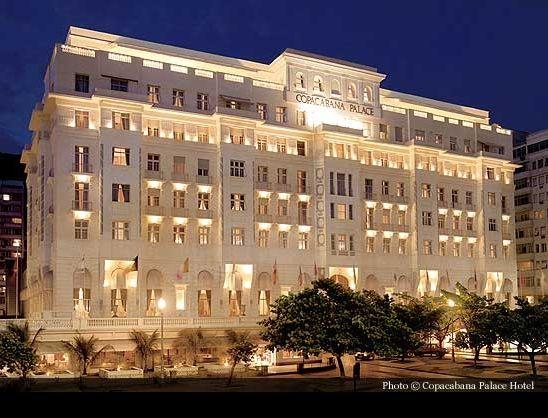 Copacabana Palace Hotel Rio de Janeiro (1923). It is the most famous and luxurious hotel in Rio de Janeiro - Brazil