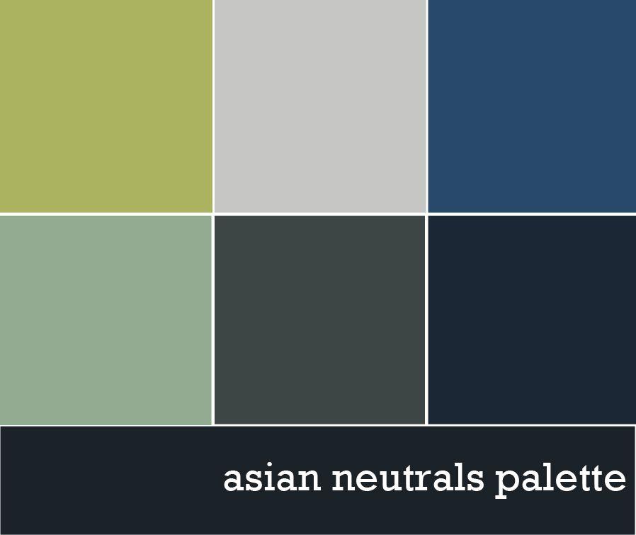 Neautral Colors: Neutral Color Palette : Asia