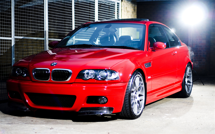 Download Wallpapers Bmw 3 Series E46 Tuning Coupe German Cars