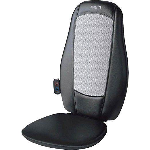 Homedics Mcs 100 Shiatsu Massage Cushion Turns Any Chair Into A Massage Miracle To Actively Relieve And De Stress Your Shiatsu Massage Shiatsu Massage Cushions