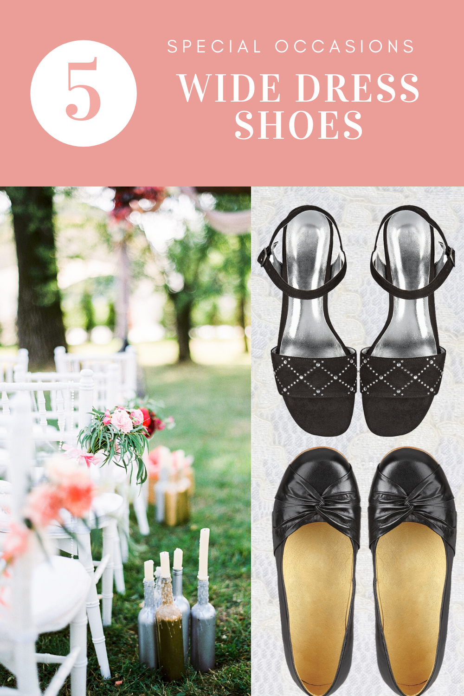 Womens wide width dress shoes