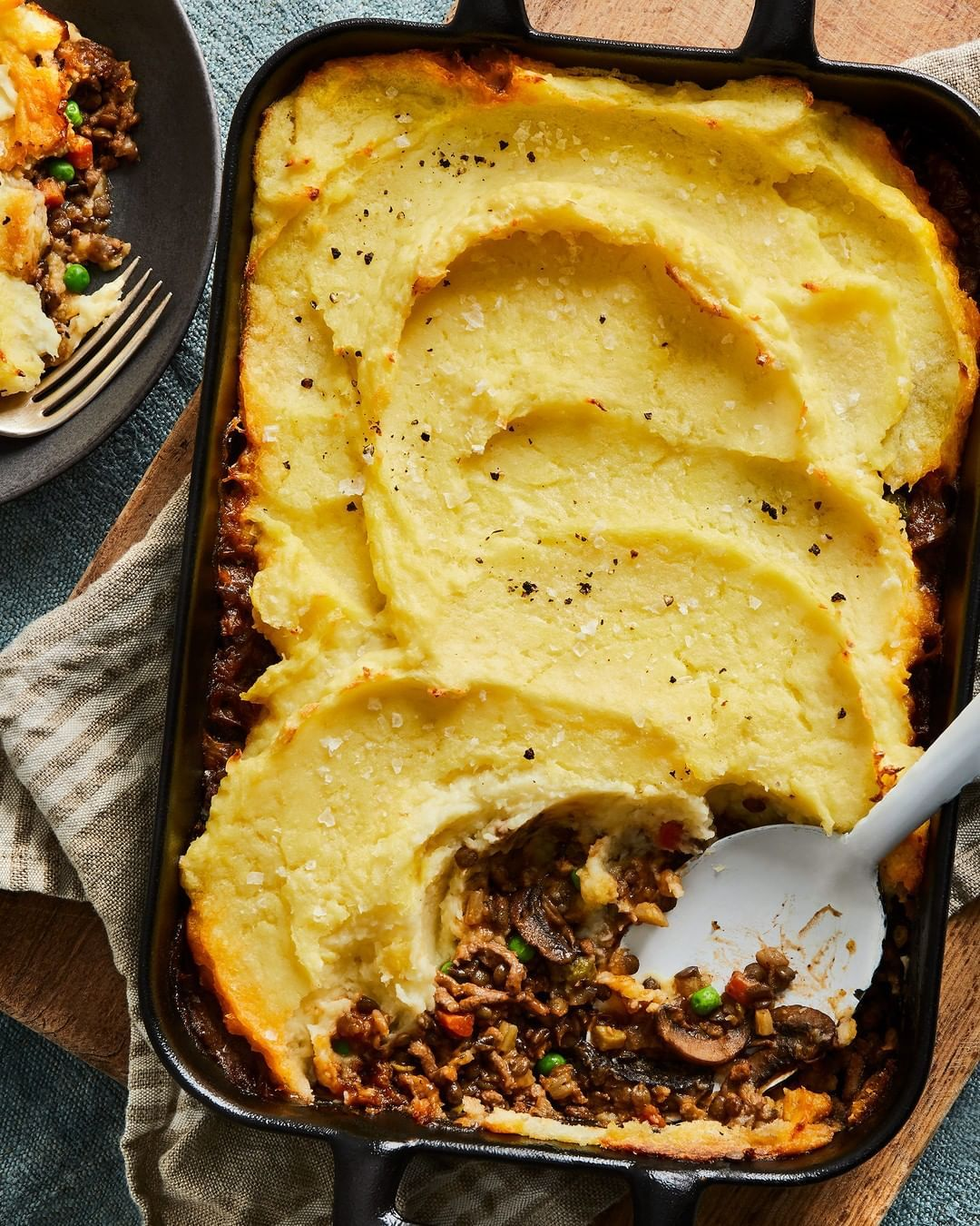 Food52 On Instagram Ruhbekuhlee S Version Of Shepherd S Pie Takes The Things We Love Fluffy Mashed Potato In 2020 Recipes Best Shepherds Pie Recipe Shepherds Pie