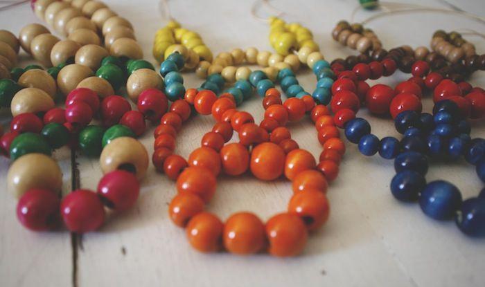 Wooden Bib Necklaces #diy #handmade