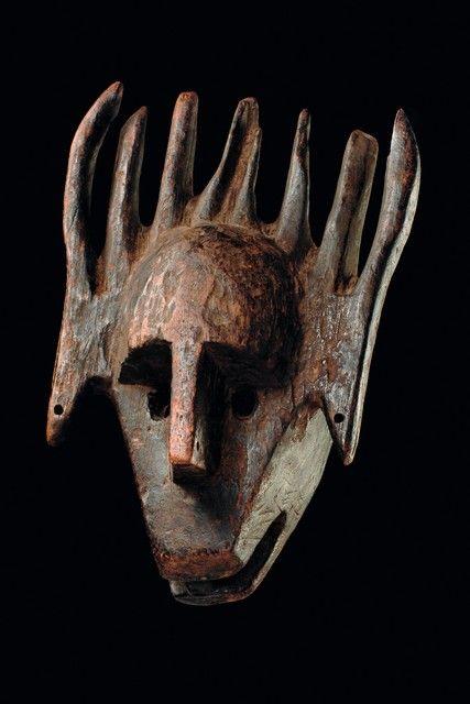 "Mask ""ntomo"", Mali, Bamana"