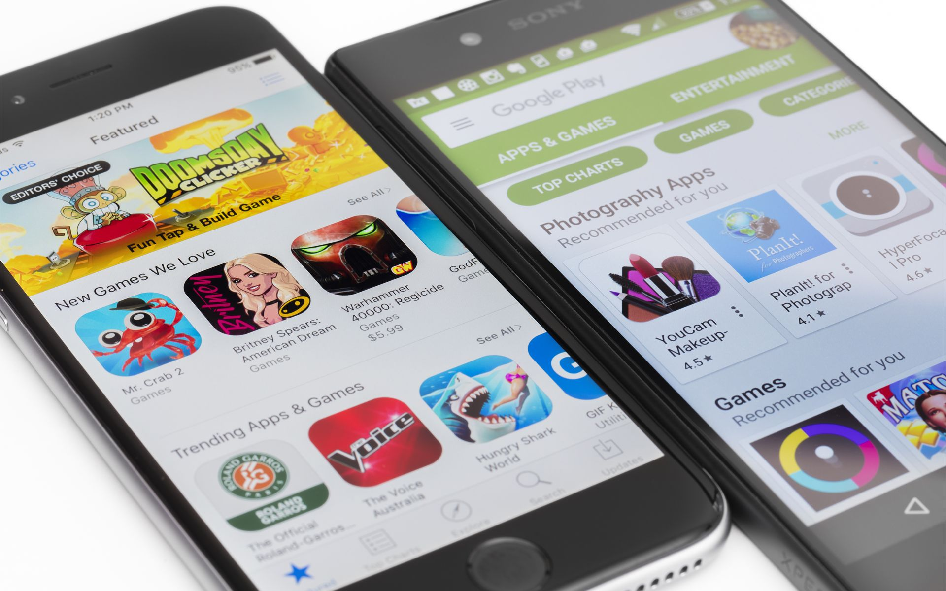 The increasing speed, storage, and performance of Android
