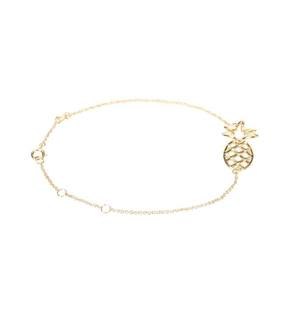Aliita Pine Chain 9kt gold bracelet PhoDdn