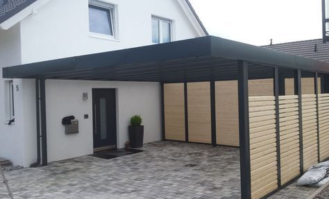 Moderne Carports In 2019 Outside Spaces Carport Garage Carport