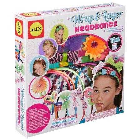 Alex Toys DIY Wear Wrap and Layer Headbands, Multicolor