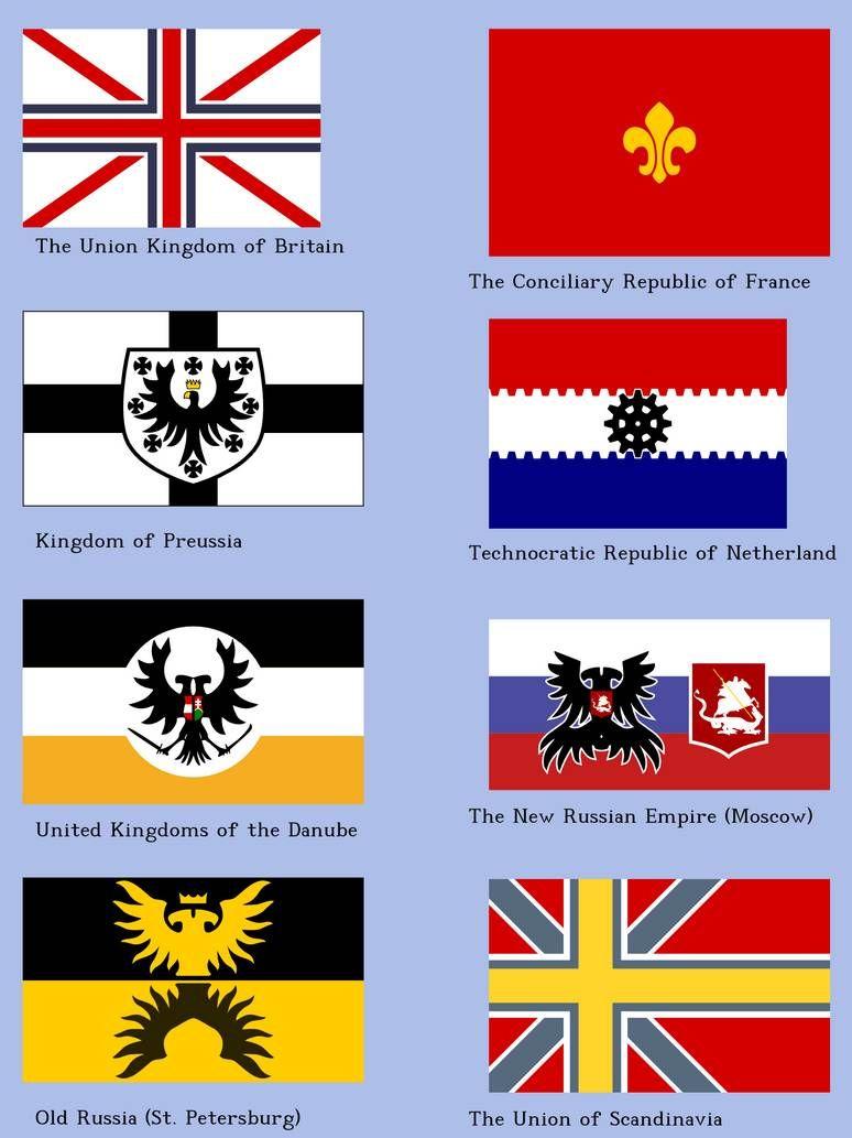 Steamopera Flags by Naeddyr on DeviantArt in 2020