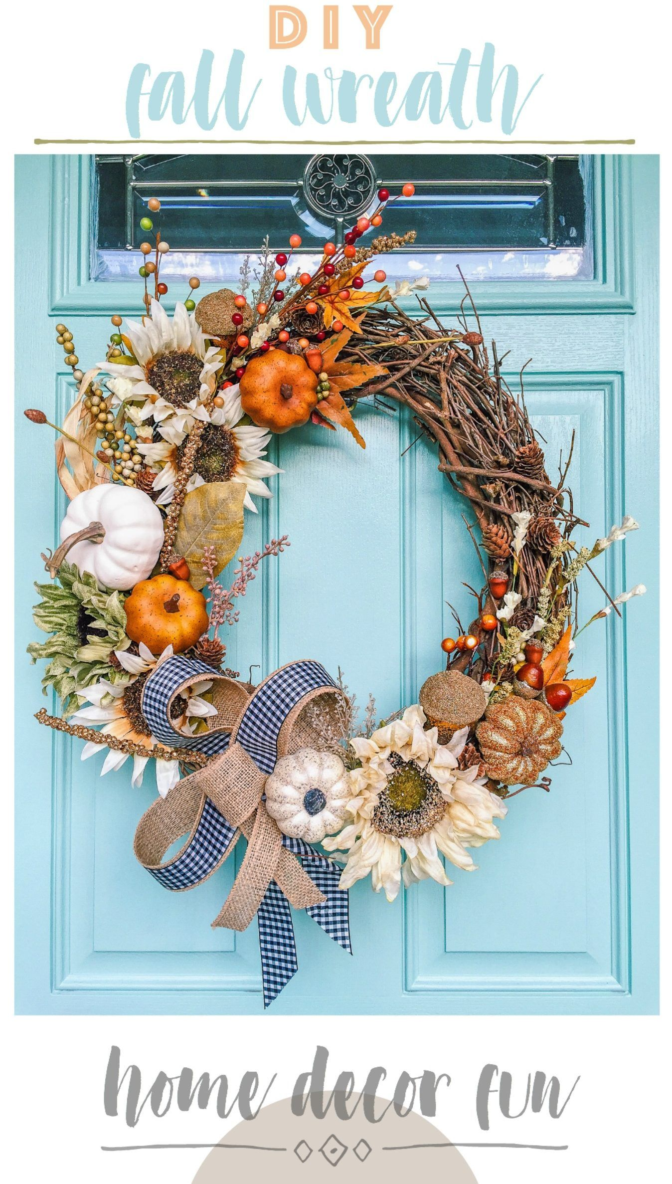 do it yourself decor beautiful fall wreath