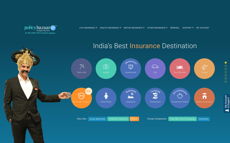India's PolicyBazaar raises 200M led by SoftBank's Vision