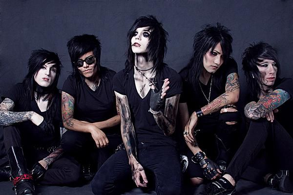 Black Veil Brides Wallpaper All About Music Black Veil Brides Black Veil Brides Andy Heavy Metal Girl