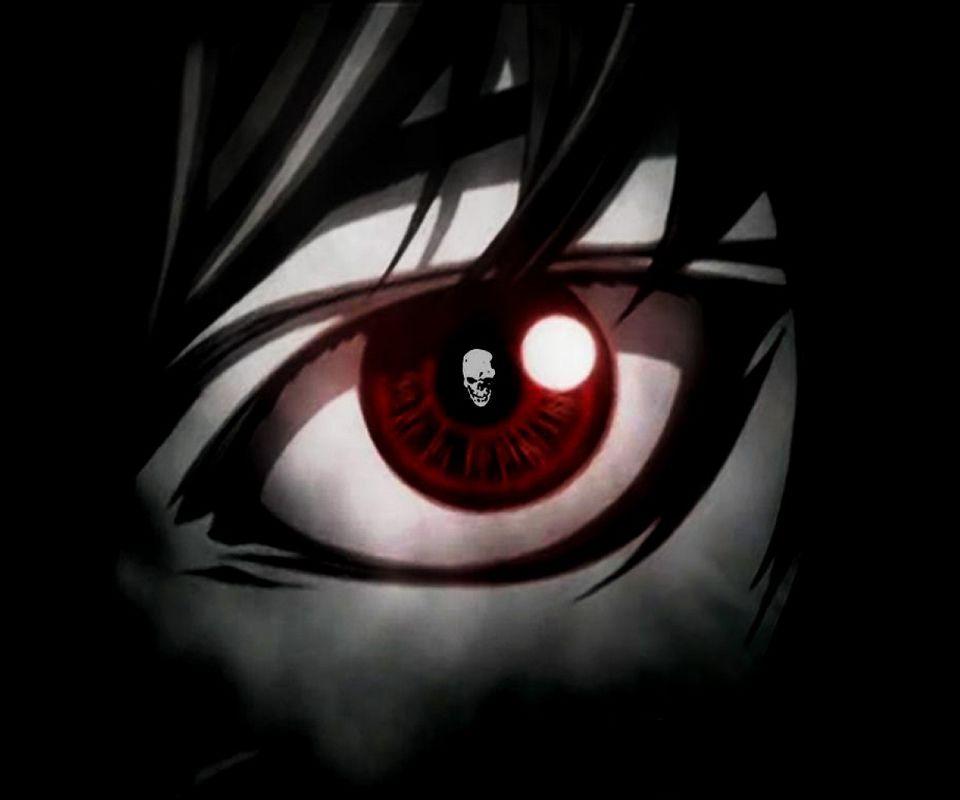 L Light Yagami Death Note Eye