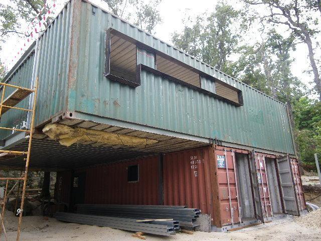 Vivienda con contenedores mar timos construccion - Casas de contenedores maritimos ...
