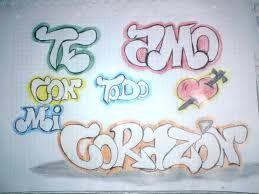 Mis Marcadores Graffitis De Amor Dibujos Faciles De Amor Te Amo Dibujo
