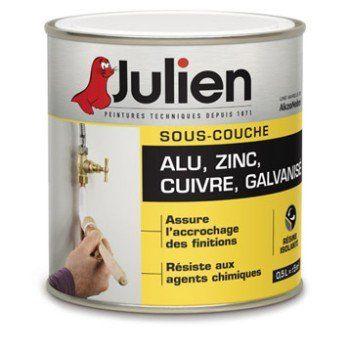 Sous Couche Aluminium Zinc Julien 05 L