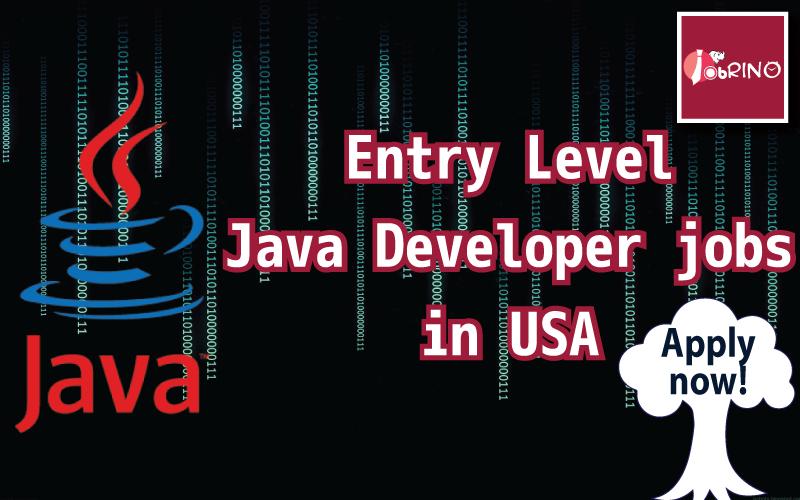 854 EntryLevel JavaDeveloper job opportunities in USA