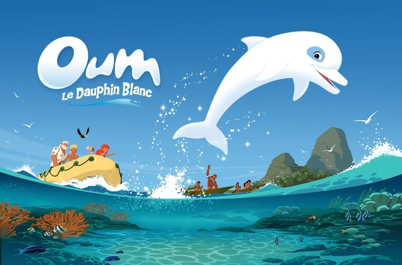 Coloriage Oum Dauphin Blanc.Sequence Nostalgie Avec Oum Le Dauphin Ressources Pour S