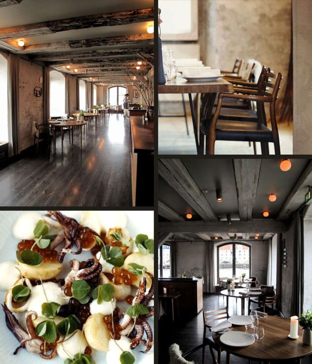 Noma Restaurant, Denmark The Name Means Nordic Food, And
