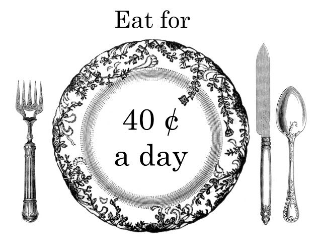 Eat for 40 Cents a Day: Part Nine: The Price Per Pound, or