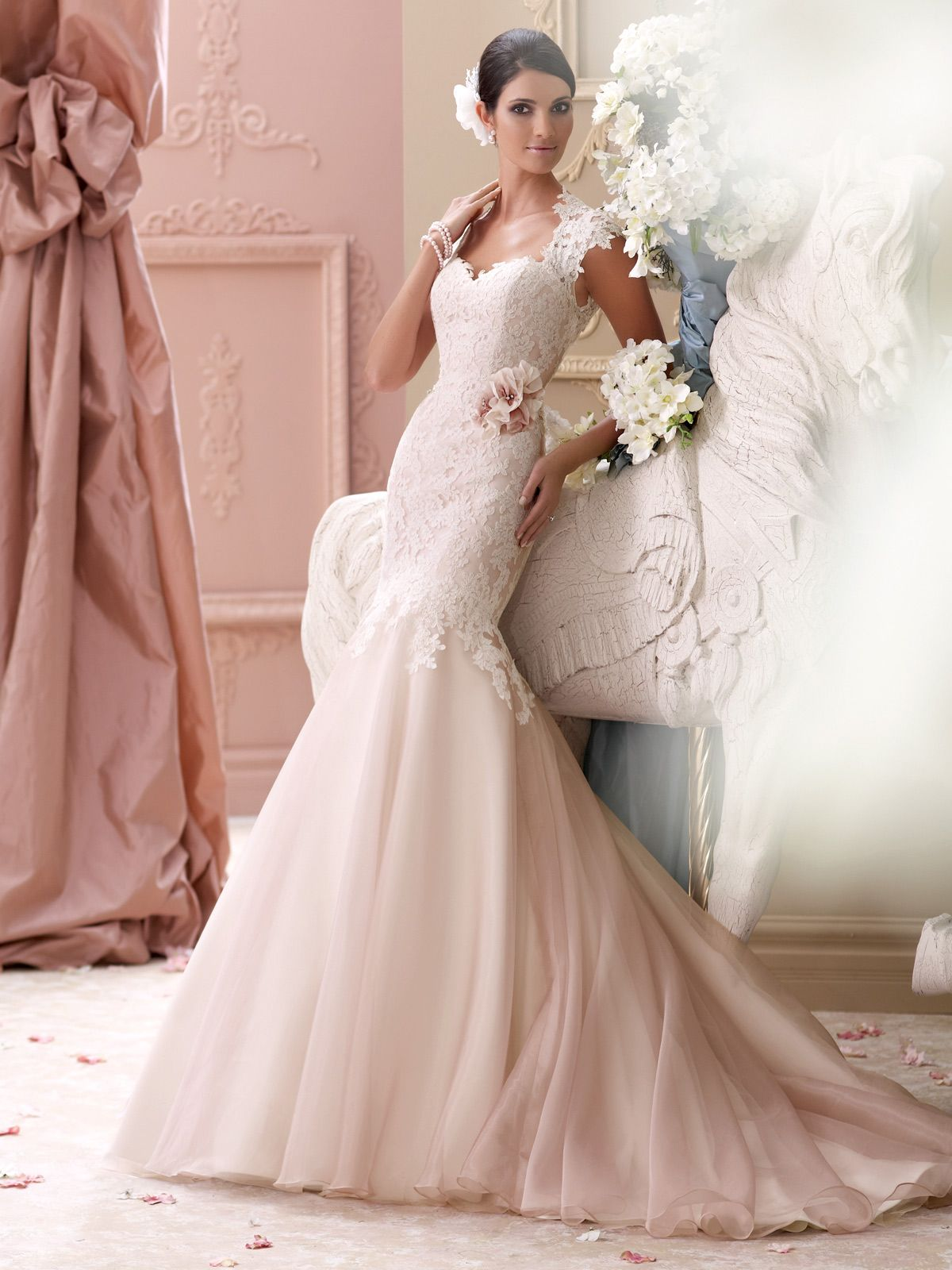 wedding dress collection corded lace appliqu tulle and