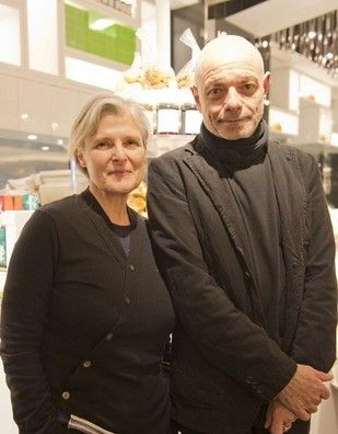 """On Apr 20, owners Rose & Jean-Charles Carrarini of popular organic cafe """"Rose Bakery"""" visited Japan. Isetan Shinjuku held a personal appearance session and interviewed the couple on the occasion."""