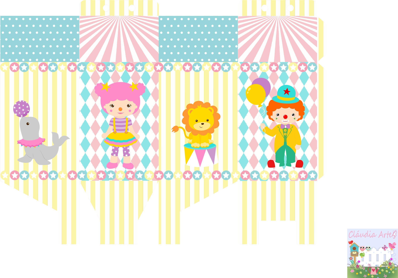 Pin Em Circus