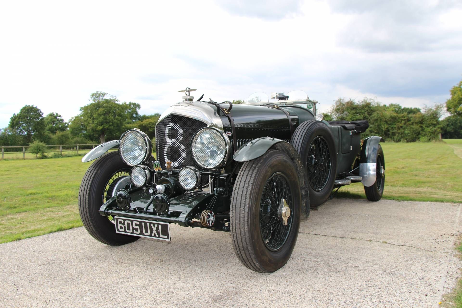 bentley 6 1 2 liter speed six prewar cars oldtimer. Black Bedroom Furniture Sets. Home Design Ideas