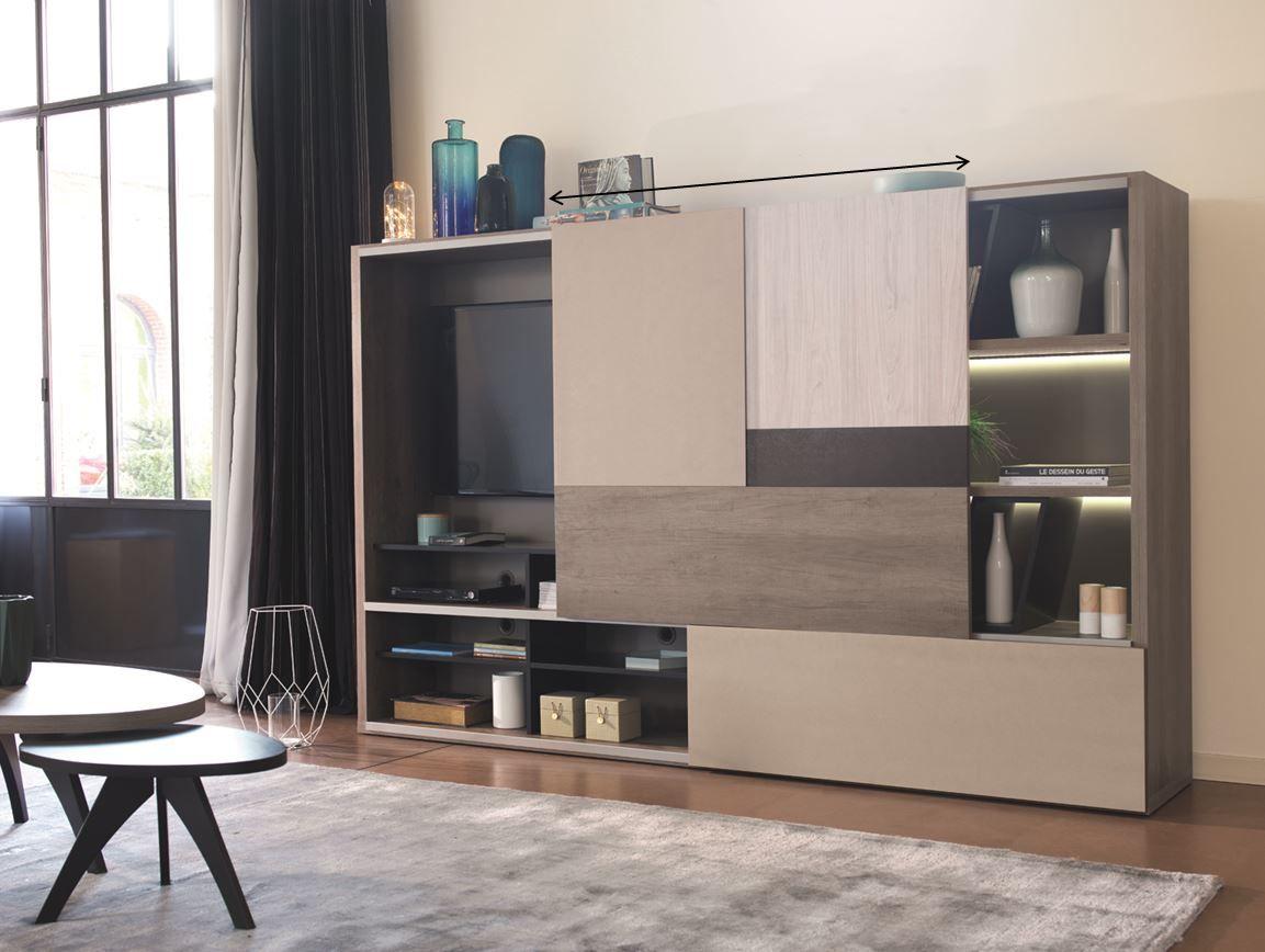 salon meuble porte coulissante