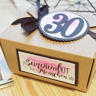 Survival KIT Zum 30. Geburtstag [inkl. Druckvorlage]