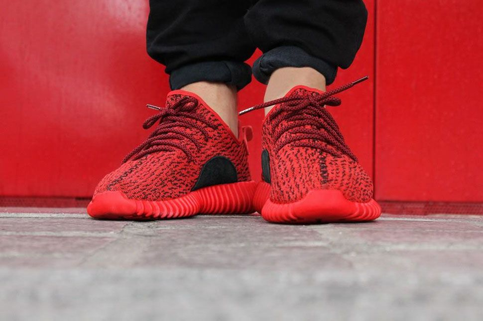 all red adidas shoes adidas originals yeezy boost 350 v2 for sale